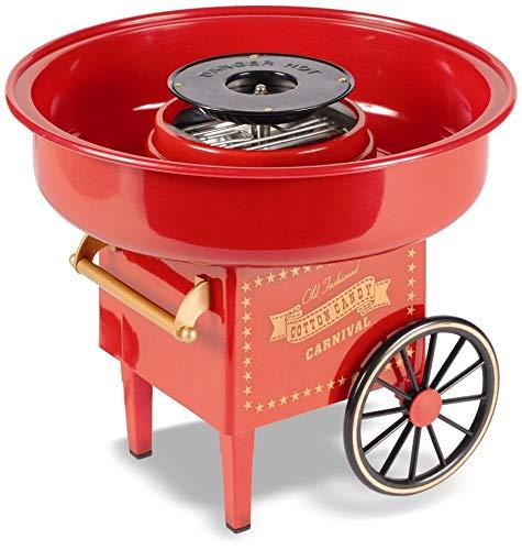 United Entertainment Cotton Candy Maker/Zuckerwattemaschine/Zuckerwatte Maschine - Kunststoff - Rot - ø 30 x...