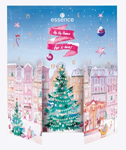 Essence Mädchen Adventskalender 2020 Beauty - Ho Ho Home 4 xmas Kalender für Frauen, Kosmetik Calender Wert...