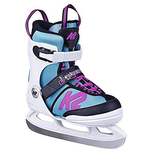 K2 Skates Mädchen Schlittschuhe Juno Ice — white - light blue — EU: 35 - 40 (UK: 3 - 7 / US: 4 - 8) —...