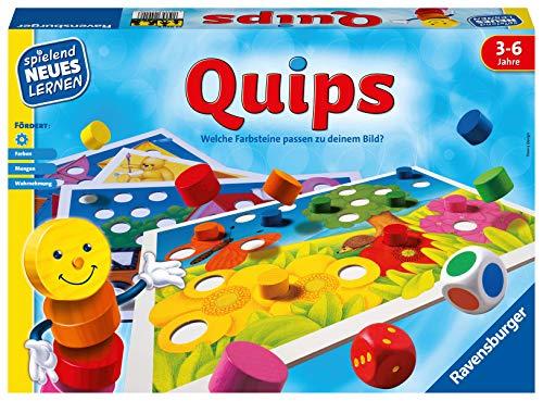 Ravensburger 24920 – Quips - Spielen und Lernen für Kinder, Lernspiel für Kinder von 3-6 Jahren, Spielend...