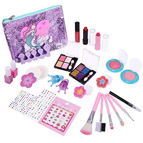 joylink Kinderschminke Set, Makeup Set für Kinder 21 Stück Waschbar Kinderschminke Set Rollenspiel Spielzeug...