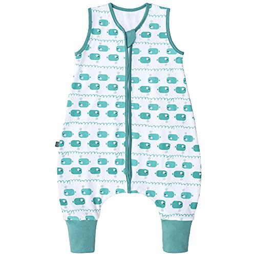 Premium Baby Schlafsack mit Füßen Sommer, Bequem & Atmungsaktiv, 100% Bio-Baumwolle, Oeko-TEX Zertifiziert,...