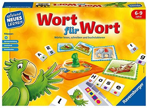 Ravensburger 24955 - Wort für Wort - Spielen und Lernen für Kinder, Lernspiel für Kinder von 6-9 Jahren,...
