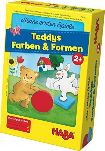 Haba 5878 - Meine ersten Spiele Teddys Farben und Formen, Legespielsammlung für 1-4 Kinder ab 2 Jahren, zum...