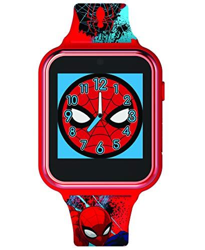 Spiderman Unisex Kinder Digital Uhr mit Silikon Armband SPD4588