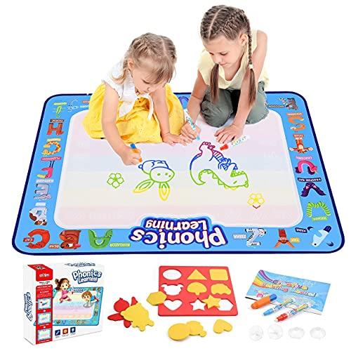 dmazing Spielzeug ab 2 3 4 5 6 Jahre Mädchen, Aqua Doodle Baby Spielzeug 12-18 Monats Ostern Geschenke für...