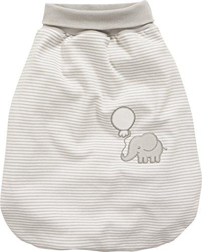 Schnizler Kleinkinder Strampelsack aus Baumwolle, praktischer Pucksack mit elastischem Umschlag-Bund, mit...