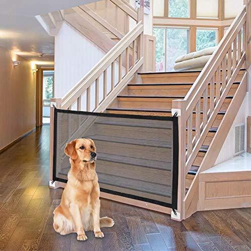 Treppenschutzgitter, Absperrgitter Hund, Türschutzgitter Hund, Hundeschutzgitter, Hundebarrieren, Faltbar...