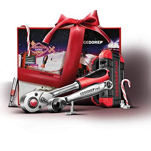GEDORE red R49002024 Adventskalender 2021, 34 teilig, Adventskalender für Männer, Männer Geschenk,...