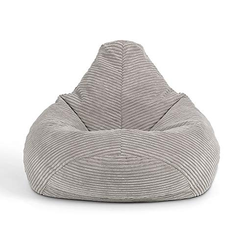 "Icon Sitzsack-Sessel ""Dalton"" für Kinder, Cord, Sitzsäcke für Kinder, Sitzsäcke für das Wohnzimmer,..."
