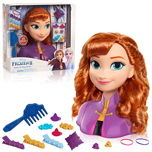 Frozen 2 Anna Styling Head