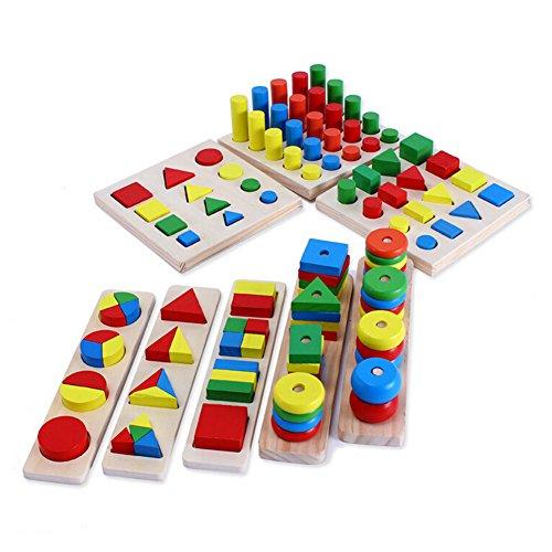 Hibote Baby-frühe pädagogische Spielwaren , Montessori-Material Kinder Spielzeug, Baby-frühe pädagogische...
