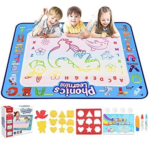Dreamingbox Spielzeug ab 2 3 4 5 6 7 8 Jahre,Aqua Magic Doodle Malset für Kinder Geschenk Junge 2-8 Jahre...
