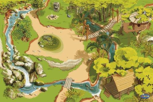 Papo 60503 Dschungel Mittelalter - Fantasy Teppiche, Mehrfarben