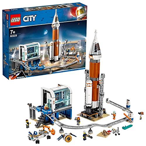 LEGO 60228 City Weltraumrakete mit Kontrollzentrum, Expedition zum Mars Set, von der NASA inspiriertes...