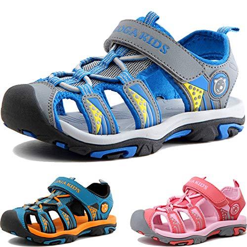Kinder Sandalen Jungen Mädchen Strandschuhe Kindersandale Trekking Sandalette Sommer Schuhe Wanderschuhe...