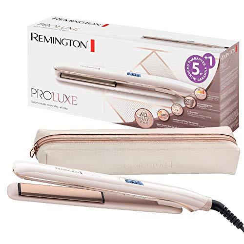 Remington Glätteisen PROluxe (OPTIheat-Technologie für lang anhaltende Styling-Ergebnisse in nur einem Zug &...