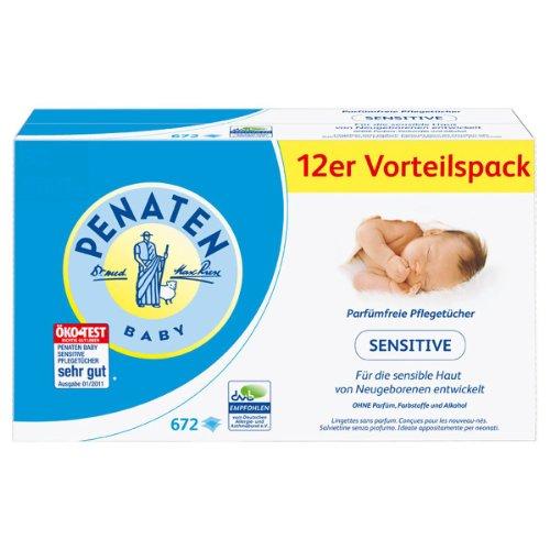 PENATEN® BABY Penaten Parfümfreie Pflegetücher Sensitive