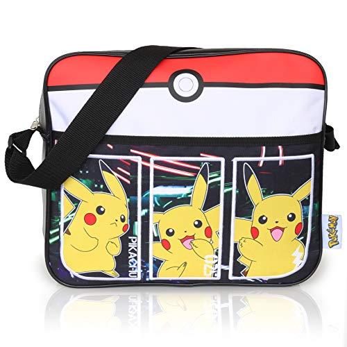 Pokémon Sport Tasche Für Jungen   Kinder Messenger Tasche Mit Pikachu   Langer Crossbody Träger   Kinder...