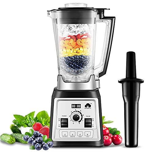 Standmixer Smoothie Maker 2000W, Easepot 2L Tritan-Behälter ohne BPA, 27,000 U/min Smoothie Blender, 4...