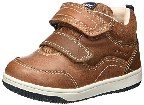 Geox Baby-Jungen B New Flick Boy A Sneaker, Brandy, 24 EU