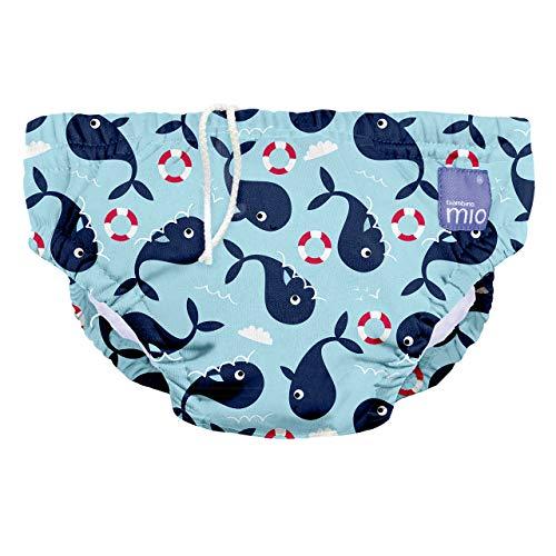 Bambino Mio, wiederverwendbare schwimmwindel, walfisch, L (1-2 Jahre)