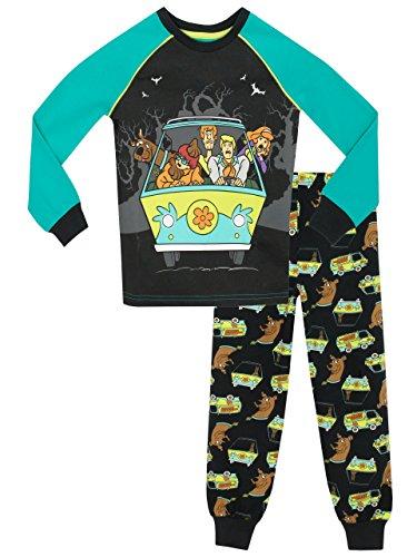 Scooby Doo Jungen Schlafanzug - Slim Fit 128