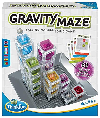 ThinkFun - 76433 - Gravity Maze - das spannende Kugellabyrinth für Mädchen und Jungen ab 8 Jahren,...