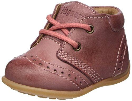 Bisgaard Jungen Mädchen Lauflernschuhe Sneaker, Pink (91 Rosa), 19 EU