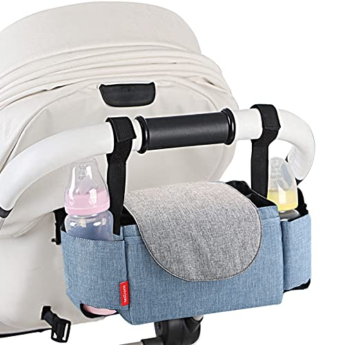 Kinderwagen Organizer Kinderwagentasche Buggy Organizer Baby ZubehöR Mit ReißVerschlusstasche...