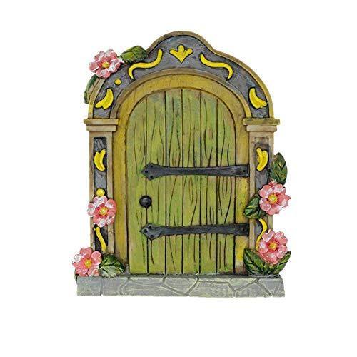 MUAMAX Feen-Gartentür Miniatur Mystischer Zwerg Zuhause magischer Eingang jeden Tag hält magische Geschenke...