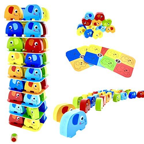 RB&G Spiel Pädagogisches Kinderspiel Puzzle ab 3 Jahre Spiele ab 3 Jahren Holzpuzzle Puzzle aus Holz...