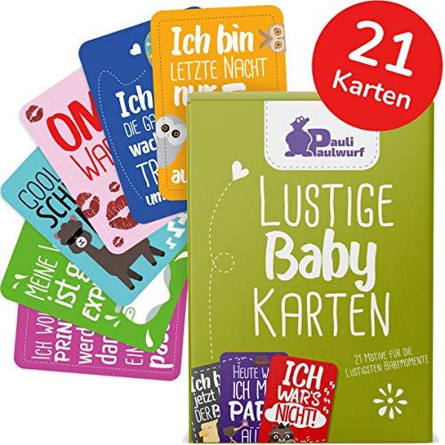 Baby Meilenstein-Karten für das 1. Lebensjahr