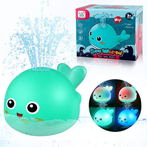 Yojoloin Badewannenspielzeug für Kinder Baby Badespielzeug,Wasserspielzeug für Badewanne Schwimmbad,Wal...