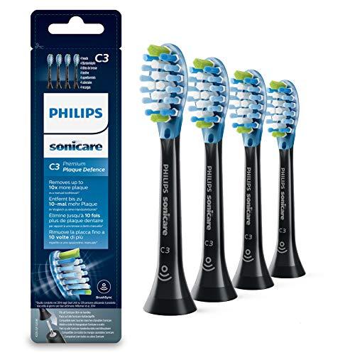 Philips Sonicare Original Aufsteckbürste Premium Plaque Defence HX9044/33, 10x mehr Plaqueentfernung,...