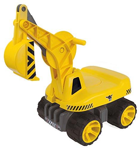 BIG - Power-Worker Maxi-Digger - Kinderfahrzeug, geeignet als Sandspielzeug und für das Kinderzimmer,...