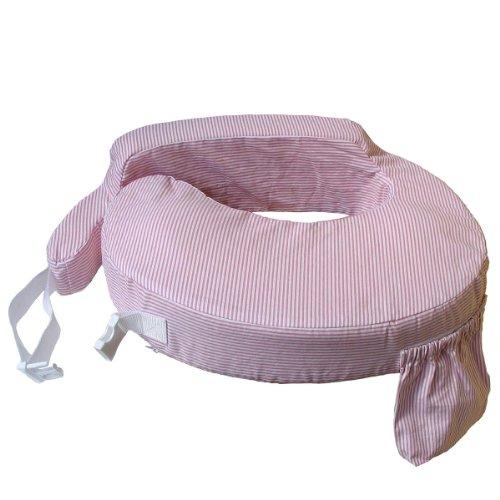 MY BREST FRIEND 0007 Standard Stillen Pflege Kissen, Rosa Weiß Streifen, rosa