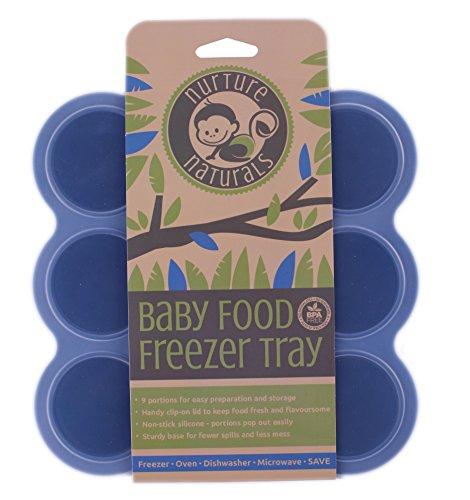 Gefrierform zum Einfrieren und Aufbewahren von Babynahrung/Babykost und als Behälter für Babybrei | 2 Farben...