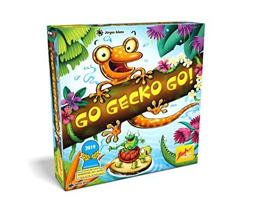 Zoch 601105129 - Go Gecko Go! - Nominiert zum Kinderspiel des Jahres 2019, Gemeinschaftsspiel für die ganze...