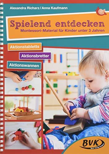 Spielend entdecken - Montessori-Material für Kinder unter 3 Jahren