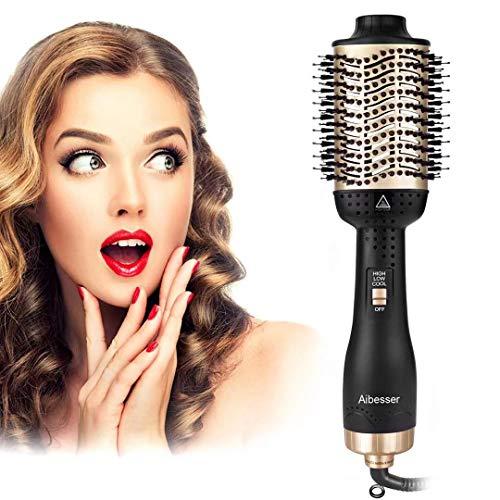 Aibesser Haartrockner Warmluftbürste, 5 In 1 Upgrade Warmluftbürste Hair Dryer Volumizer Styler...