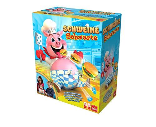 Goliath 30341 Schweine Schwarte Kinder-Gesellschaftsspiel | ausgezeichnetes Kinder-Spiel mit saumäßigem...