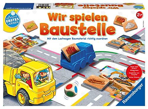 Ravensburger 24726 Wir spielen Baustelle - Bau-und Zuordnungsspiel für die Kleinen - Spiel für Kinder ab 2...