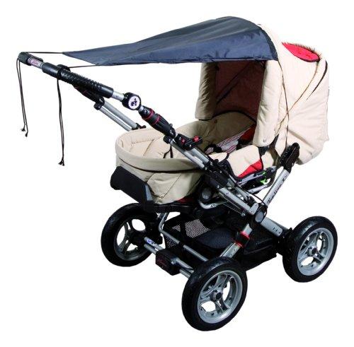 sunnybaby 11272 - Universal Sonnensegel für Kinderwagen & Sportwagen | Sonnenschutz | höchster UV Schutz UPF...