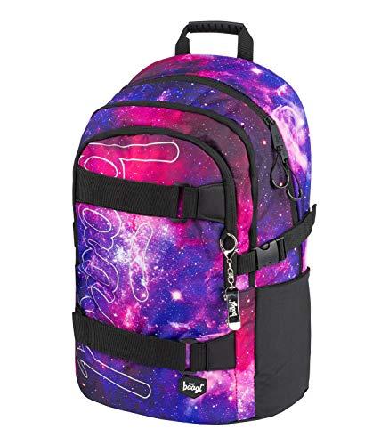Schulrucksack für Mädchen Teenager - Skateboard Rucksack - Kinderrucksack mit Laptopfach und Brustgurt für...