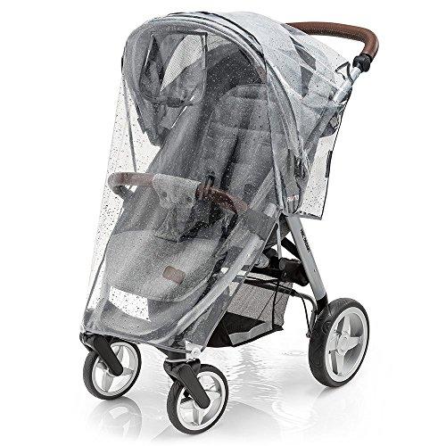 Universal Komfort Regenschutz für Buggy und Sportwagen - gute Luftzirkulation, verschließbares...