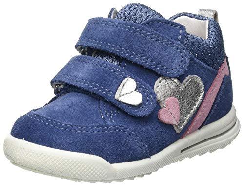 Superfit Avrile Mini Low-Top Sneakers Sneaker, BLAU/ROSA, 24 EU