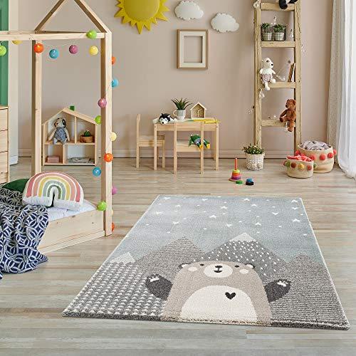 Fashion4Home Teppich Kinderzimmer - Teppiche für Kinderzimmer, Kinderteppich, Kinderteppich Mädchen, mit...