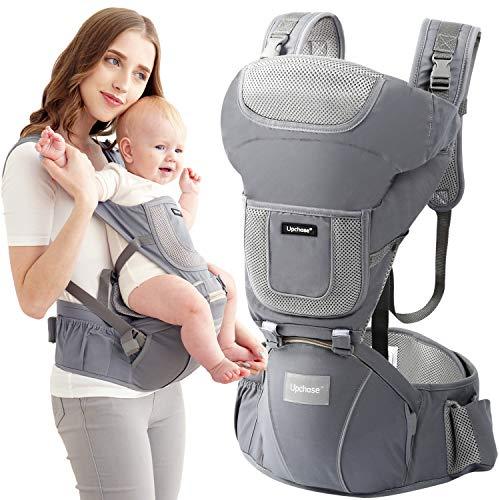 Babytrage für Neugeborene bis 3 Jahr Ergonomische Babytragetasche Bauchtrage