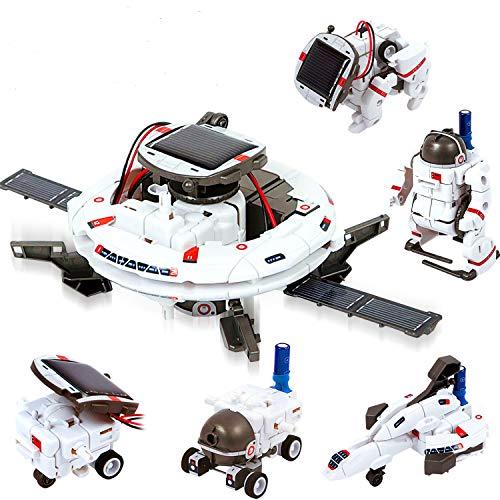 ATCRINICT STEM-Spielzeugroboter-Wissenschafts-Kits für Kinder 8 9 10-12-jährige Geschenke